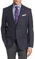 Ted Baker 'Jerry' Trim Fit Windowpane Wool Sport Coat
