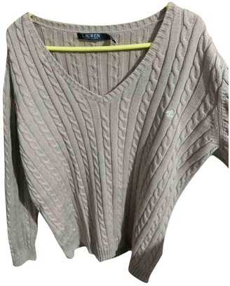 Lauren Ralph Lauren Beige Cotton Knitwear for Women