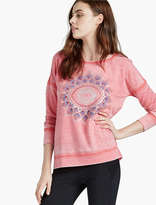 Lucky Brand Eye Graphic Sweatershirt