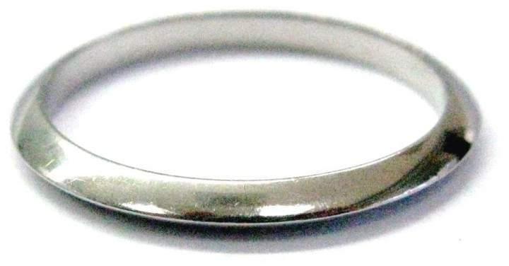 Tiffany & Co. Platinum Wedding Band Size 6 Ring