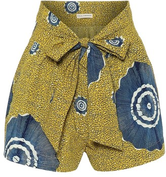 Ulla Johnson Martim printed cotton shorts