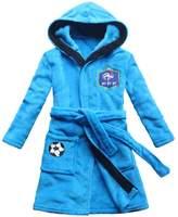 [FEETOO] France football team Embroidered Boy Bathrobe Robe Children's Nightgown