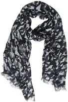 Destin Surl Camo Printed Woven Linen Scarf
