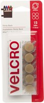 Velcro 90071 5/8-Inch Sticky Back Coins, 15-Pack