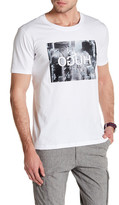 HUGO BOSS Short Sleeve Front Graphic Modern Fit Tee