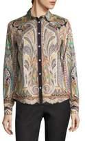 Etro Paisley Button-Front Shirt