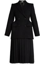 Balenciaga Cavalry wool-twill coat