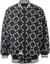 Kokon To Zai square latin bomber jacket