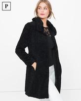 White House Black Market Petite Persian Faux-Fur Coat