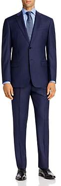 Giorgio Armani Emporio Tonal Micro-Check Virgin Wool Regular Fit Suit