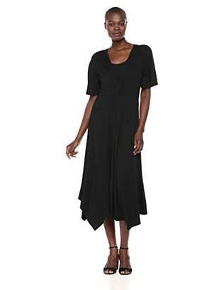 Karen Kane Women's Asymmetric Twist-Front Dress