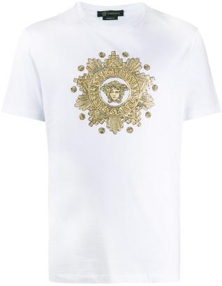 Versace sequin-embellished Medusa T-shirt