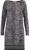 MICHAEL Michael Kors Leopard-Print Stretch-Jersey Mini Dress