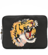 Gucci tiger embroidered tablet case