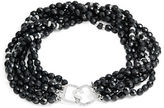 Kenneth Jay Lane Crystal Pave Accented Layered Beaded Necklace