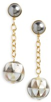 Tory Burch Women's Linear Drop Earrings