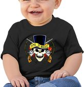 Atoggg Infants &Toddlers Baby's Guns N Roses Logo T Shirts For 6-24 Months