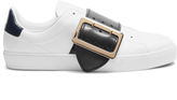 Burberry Westford low-top leather trainers
