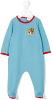 Gucci Kids embroidered logo pyjama