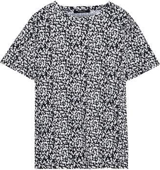 Derek Lam Printed Cotton-jersey T-shirt