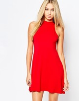 Missguided High Neck Swing Dress