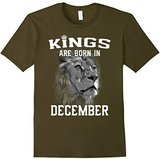 Women's Kings Are Born In December (GK) T-Shirt Medium