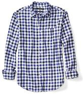 Banana Republic Camden-Fit Luxe Flannel Gingham Shirt
