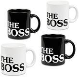 """Waechtersbach The Boss"""" 4-pc. Mug Set"""