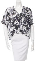 Stella McCartney Short Sleeve Floral Print T-Shirt