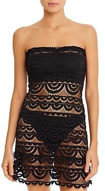 PQ Swim PilyQ Smocked Tube Dress Swim Cover-Up