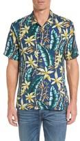 Tommy Bahama Men's Standard Fit Jungle Punch Silk Camp Shirt