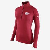 Nike Tailgate Element Half-Zip (NFL Chiefs) Women's Running Top