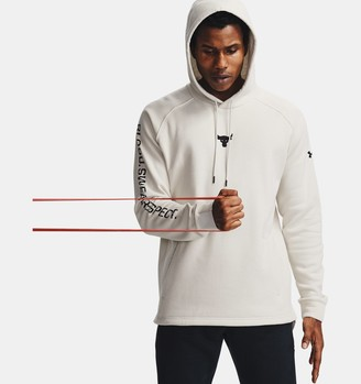Under Armour Men's Project Rock Charged Cotton Hoodie