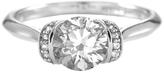 White Gold Aspire Ring With Swarovski® Crystals