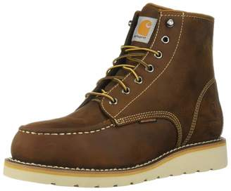 Carhartt Men's 6 Inch Waterproof Wedge Boot Steel Toe Industrial Oil Tanned Leather 8.5 M US