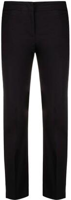 Twin-Set Low-Rise Straight-Leg Trousers