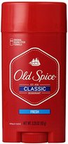 Old Spice Classic Stick Fresh Scent Men's Deodorant 3.25 Oz (Pack of 6)