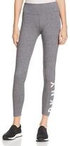 Donna Karan Full-Length Logo Leggings