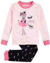 Petit Lem Cotton Magic Girl 2 Piece Pajama Pants Set
