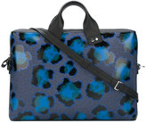 Kenzo leopard print laptop bag - men - Cotton/Nylon/Polyurethane - One Size