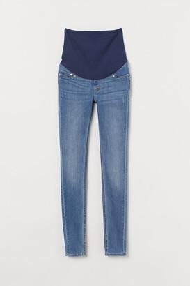 H&M MAMA Super Skinny Jeans - Blue