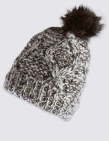 Marks and Spencer Pom Bobble Hat