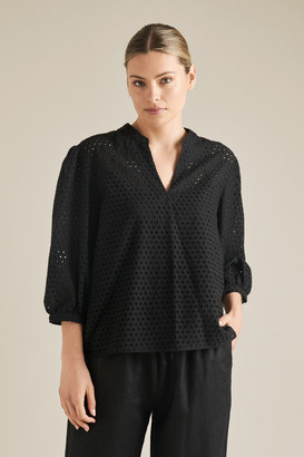 Seed Heritage Broderie Blouse