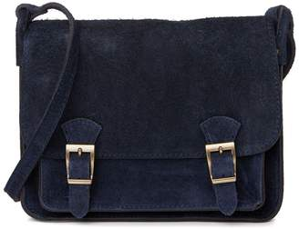Renata Corsi Suede Shoulder Bag