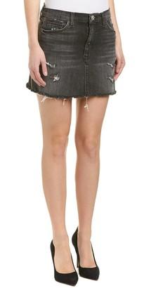 Hudson Women's Vivid Denim Mini Skirt W Released Hem