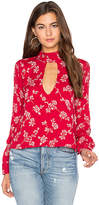 Flynn Skye Leah Top in Red. - size XS (also in )