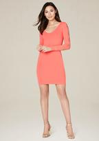Bebe Cutout Sleeve Dress