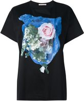 Christopher Kane rose print T-shirt