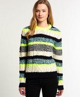 Superdry Twist Stripe Knit