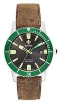 Zodiac Men's ZO9252 Heritage Analog Display Swiss Quartz Beige Watch